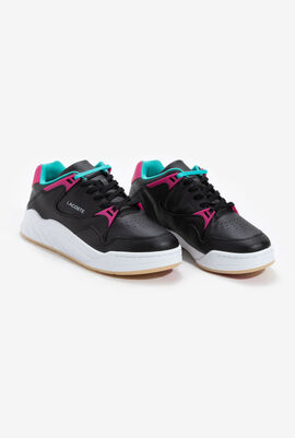 Court Slam Leather Trainers