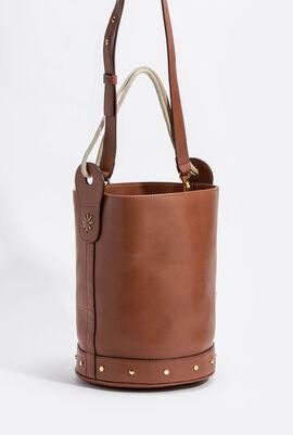 Oro Leather Bucket Bag
