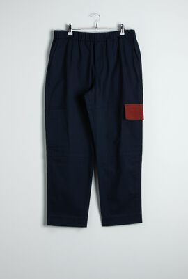 Tapered Cropped Cargo Pants
