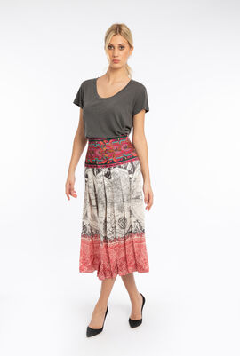 Duccio Printed Skirt