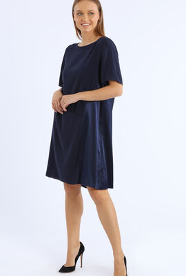 Plain Knee Length Dress