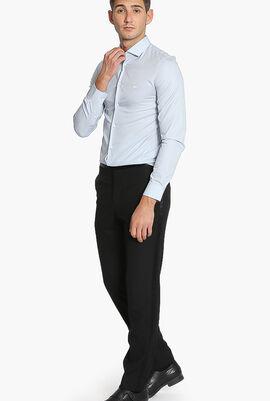 Stripes Poplin Slim Fit Shirt