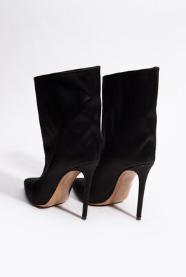 Solid Stiletto Booties