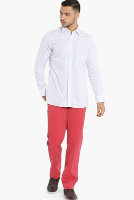 Two-Tone Stripes Kensington Classic Fit Shirt