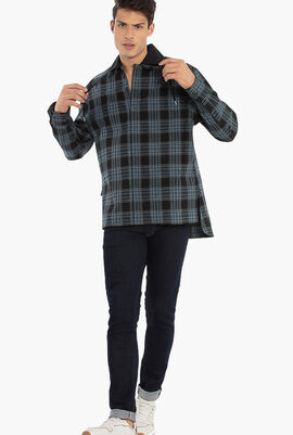 Checkered Pattern Long Sleeves Shirt