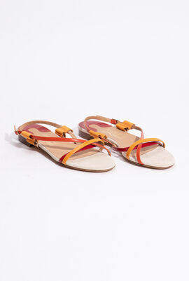 Billie Two-Tone Sandals