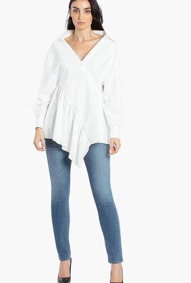 Twisted Wrap Shirt