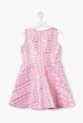 Polka Dots Sleeveless Dress