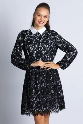 Terisa Embroidered Dress