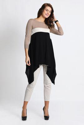 Navona Asymmetrical Sweater