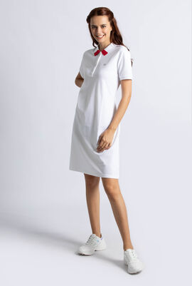 Slim Fit Polo Pique Dress