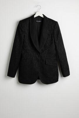 Jacquard Floral Jacket