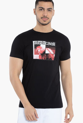Eagle Photo Print T-Shirt