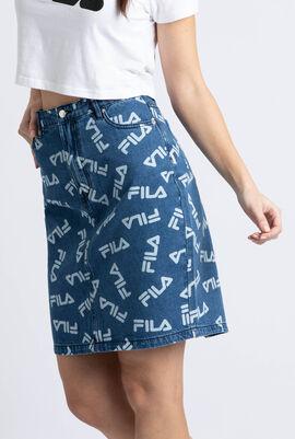 Mya AOP Diamante Knee Length Skirt
