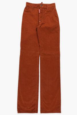 Stretch Corduroy Pants
