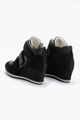 حذاء رياضي بنعل جلد عريض Illusion