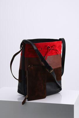 Multicolor Medium Bucket Bag