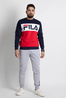 Ostler Colour Block Crew Sweatshirt