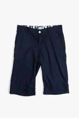 Plain Bermuda Shorts