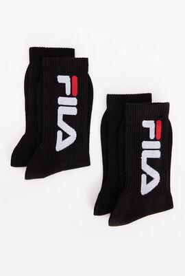 2 Pack Cotton Blend Socks