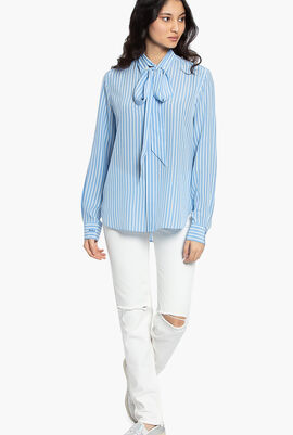 Stripes Long Sleeves Shirt