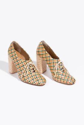 حذاء مرتفع حتى الكاحل Fabienne Raffia