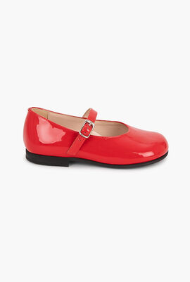 Patent Leather Mary Jane Flats