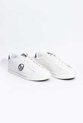 Now Low LTX White/Navy Sneakers