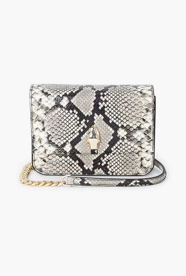 Milano Python Crossbody Bag