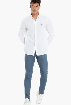 Tiger Crest Casual Fit Shirt