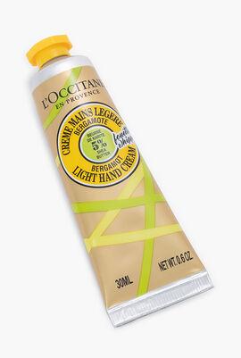 Shea Bergamot Light Hand Cream, 30ml