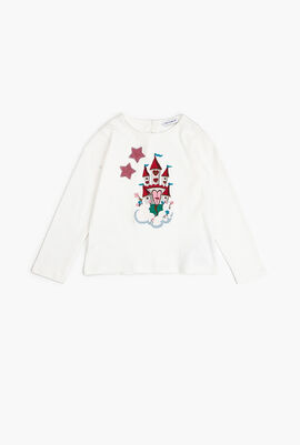 Castle Patch Long Sleeves T-Shirt