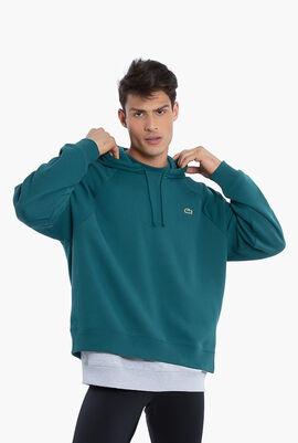 Lacoste LIVE Fleece Hoodie Sweatshirt