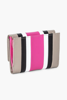 Phoebe Leather Small Flap Wallet