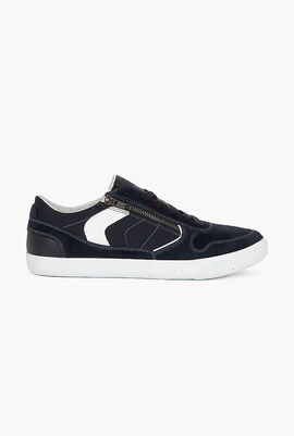 Box Suede Trainers