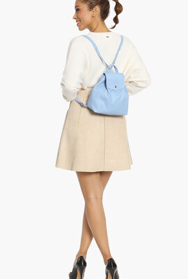 Le Pliage Cuir Small Backpack
