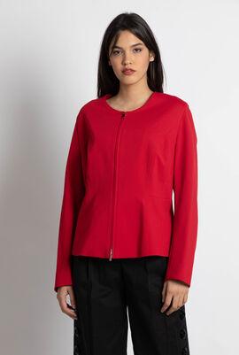 Carla Shapely Red Jacket