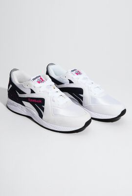 Pyro White Classic Sneakers for Unisex