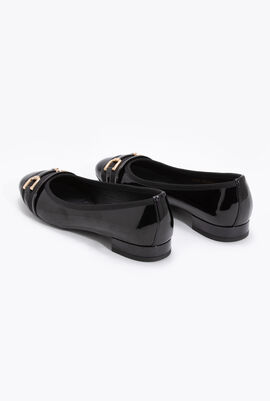 Wistrey D Patent Leather Ballet Flats
