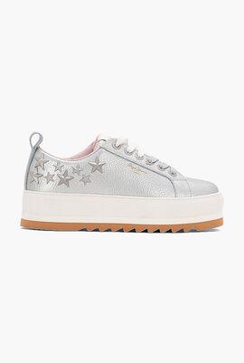 Otawa Studs Leather Sneakers