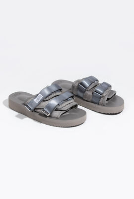 Moto-VHL Fur Padded Slides