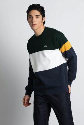 Colourblock Ribbed Sweater