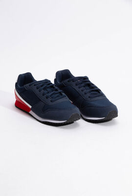 Alpha II GS Sport Dress Blue/Pure Red Sneaker