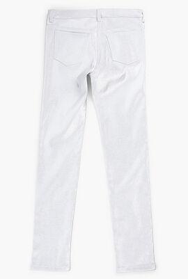 Long Pants with Metallic Detail