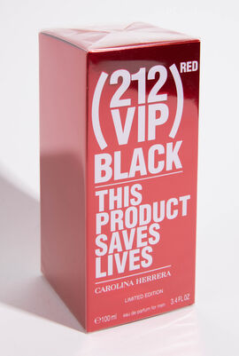 212 VIP Black Red Eau de Parfum Limited Edition, 80 ml