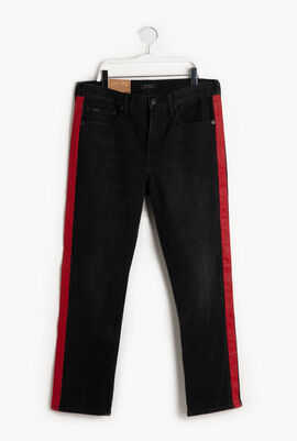 Waverly Straight High Rise Crop Jeans