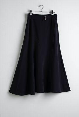 Elvira Navy A-Line Skirt