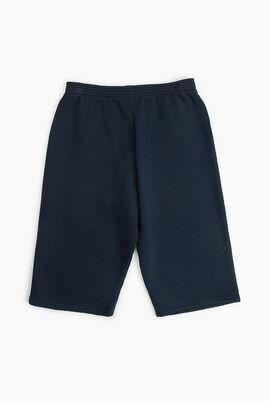 Printed Logo Sweatpants Shorts