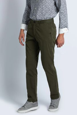 Mid Fit Chino Stitched