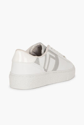 Youth Mix Snake Leather Sneakers
